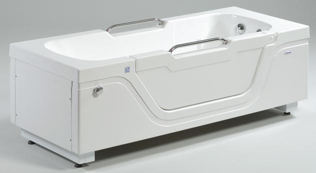hoog laag bad met deur - Pirroen intepro