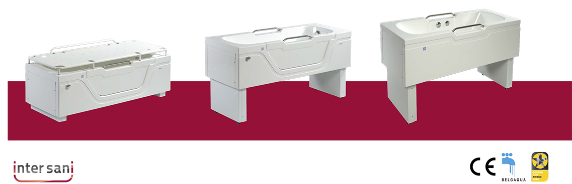 assisted height adjustable baths